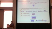 Christophe Kervévan presenting paper#1